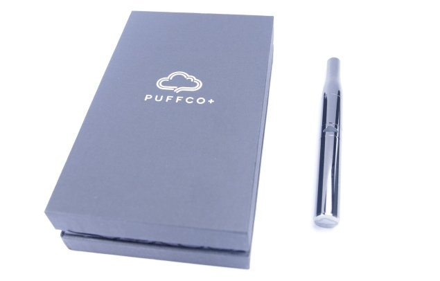 puffco plus vape pen and the box