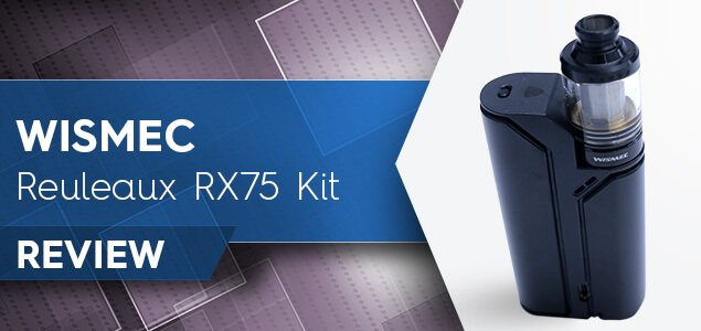 Wismec REULEAUX RX75 Kit Review