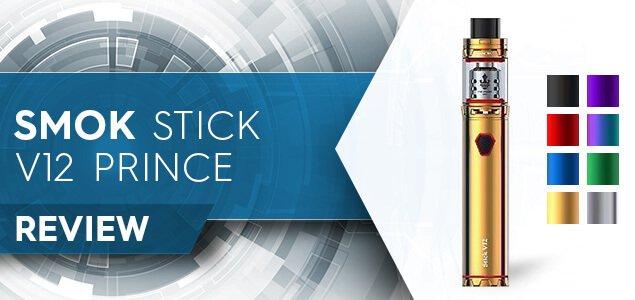 SMOK Stick V12 Prince Review: Vape Softly, But Carry a Big Stick