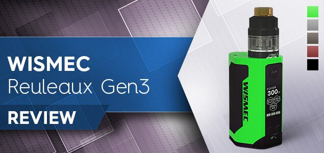 Wismec Reuleaux RX Gen3 Review