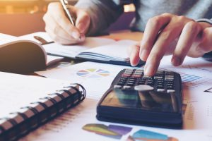 calculating money to start a business