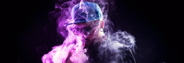 burnt vape featured image guy in vape clouds