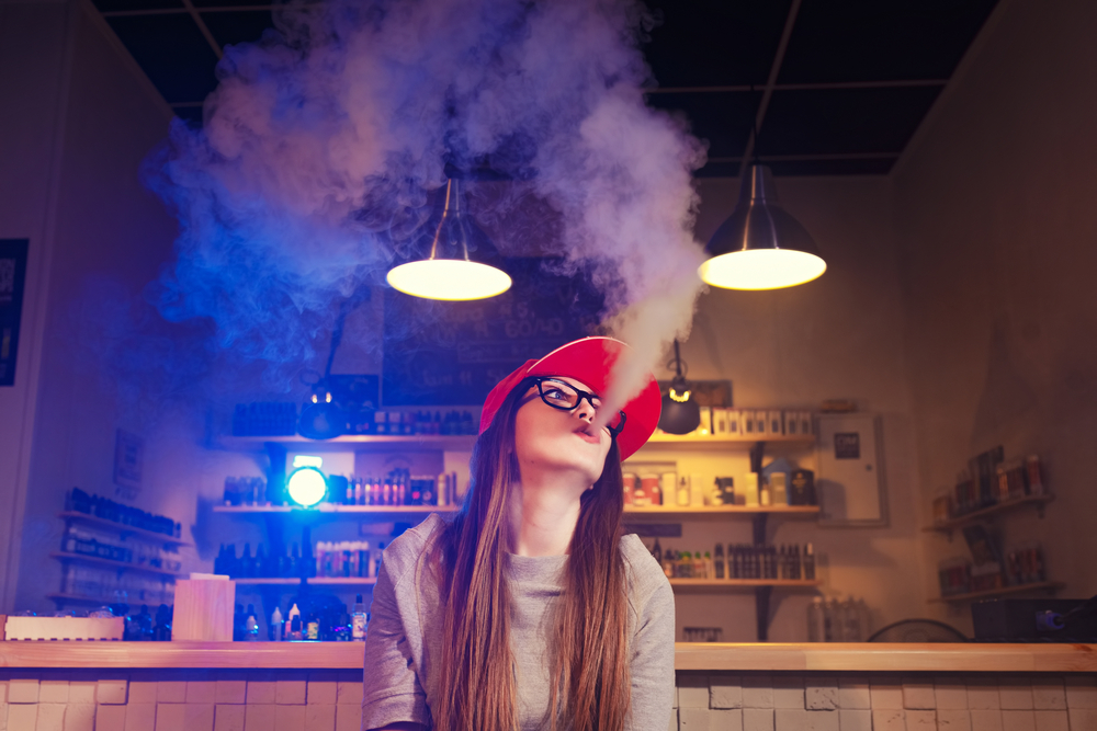 vape shop girl