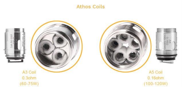 Aspire Speeder Athos coils