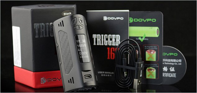 Dovpo Trigger 168W box and box contents