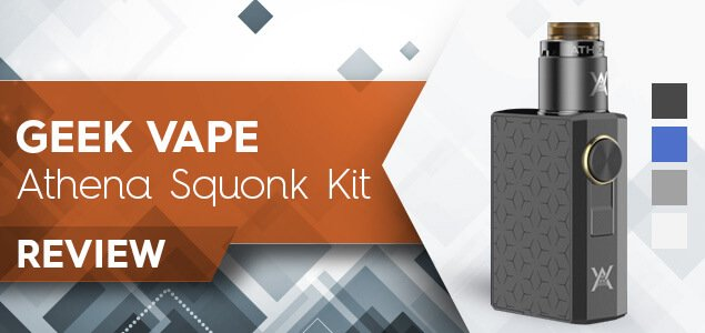 GeekVape Athena RDA Squonk Kit Review: The Myth Comes Alive