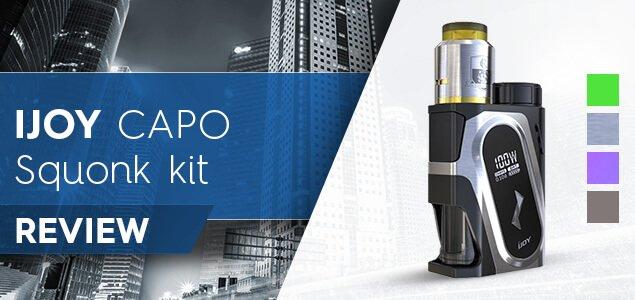 IJOY CAPO Squonk kit review