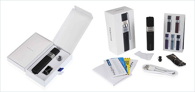 Innokin Pocketmod Starter Kit box contents