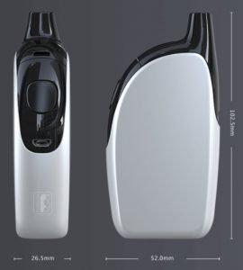 Joyetech Atopack Penguin scale-of-size-image