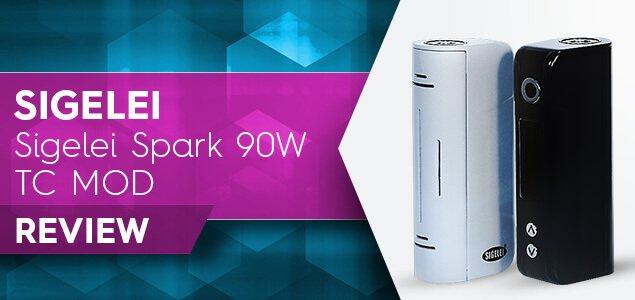 Sigelei Spark 90W TC MOD Review