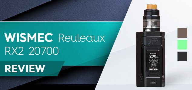 Wismec Reuleaux RX2 20700 Review