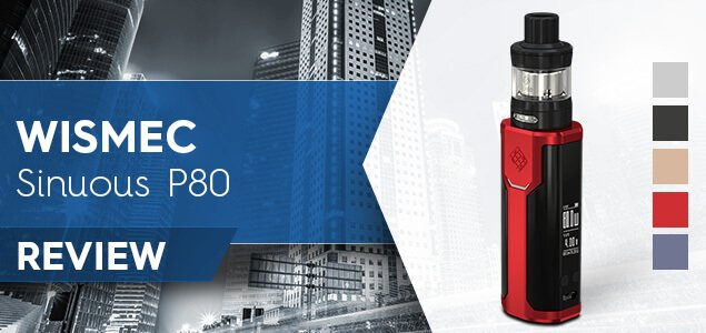 Wismec Sinuous P80 Review