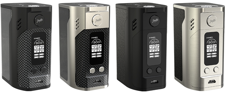 four rx300 box mods in a row