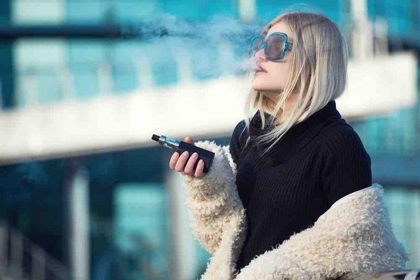 anti-smoking bill girl vape