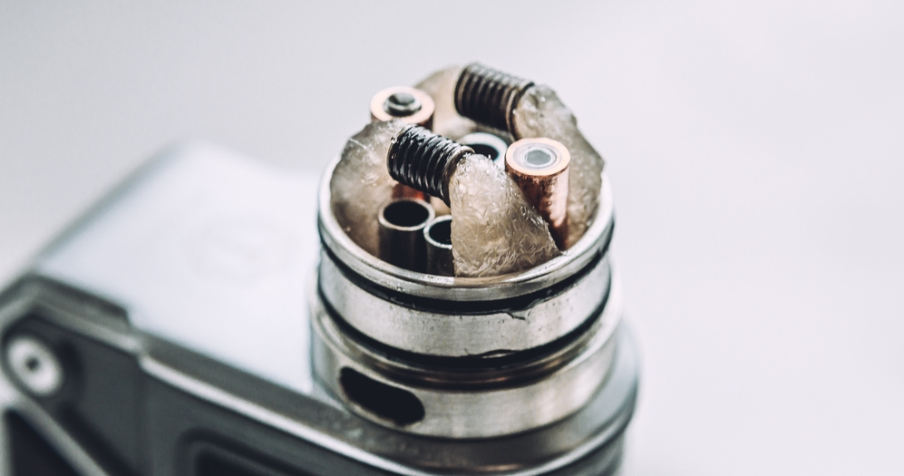 atomizer with coils and wicking