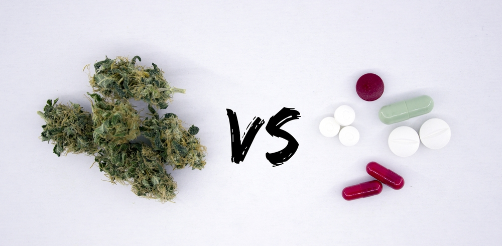 cannabis vs. prescription drugs