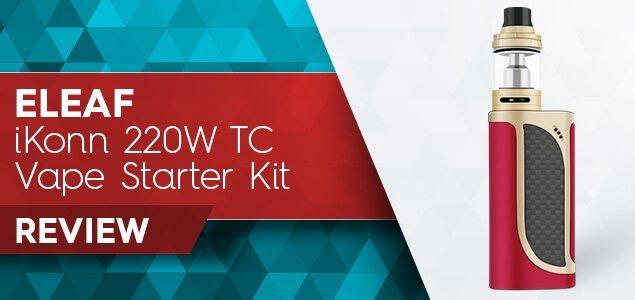 Eleaf iKonn 220W TC Starter Kit Review: iKonn, I Saw, I Conquered