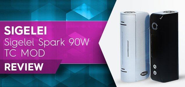 Sigelei Spark 90w Vape mod Review