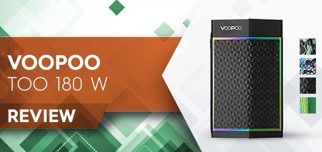 VOOPOO TOO 180W Box Mod Review: What Strange Voopoo Is This?