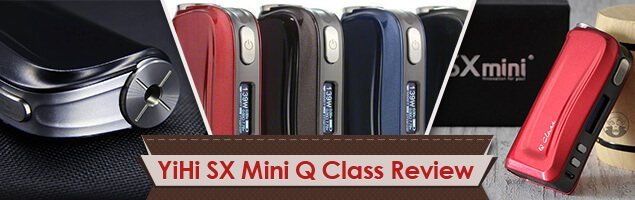 YiHi SX Mini Q Class Box Mod Review – The Vaping Machine