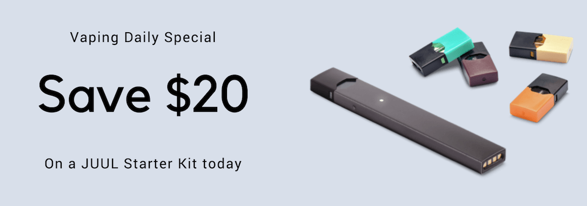 Juul coupon code july 2018