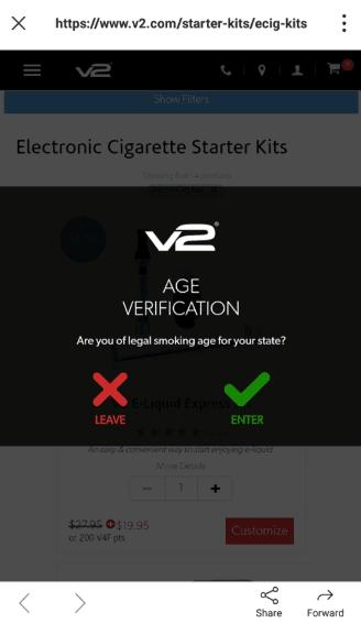 Step 1 V2 Mobile coupon