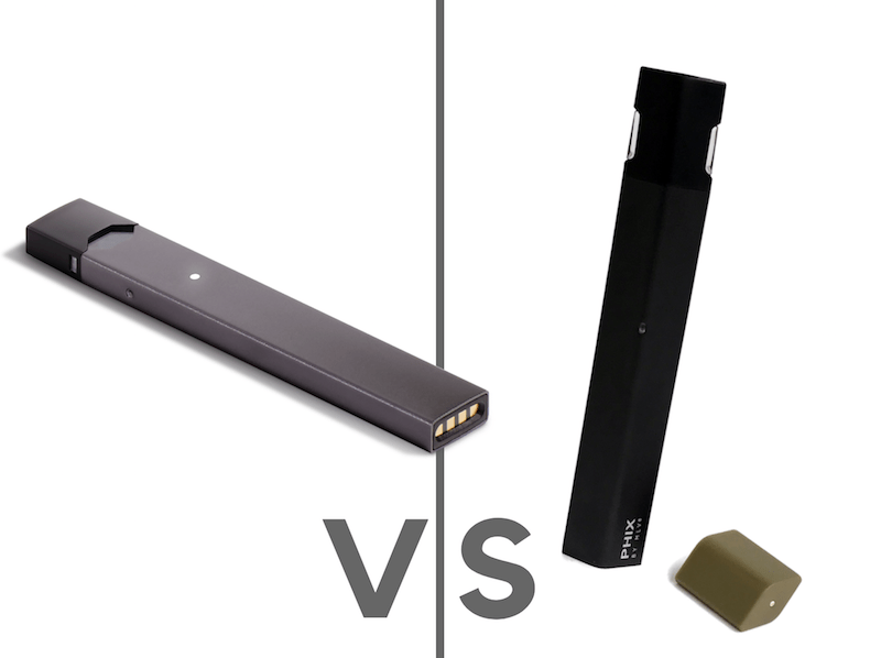 JUUL vs PHIX Comparison