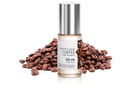 v2 platinum coffee e-liquid