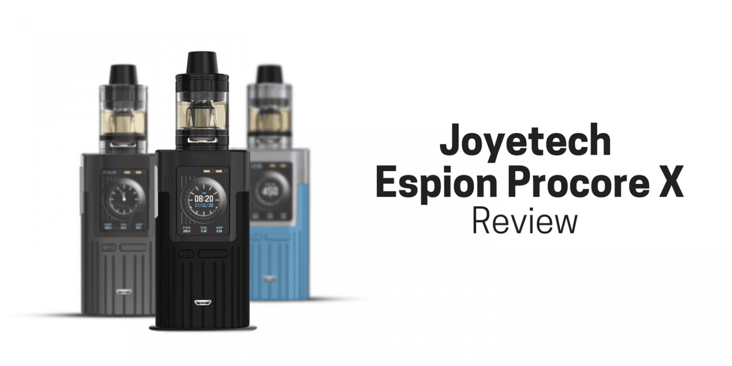 The Joyetech New Espion Procore X