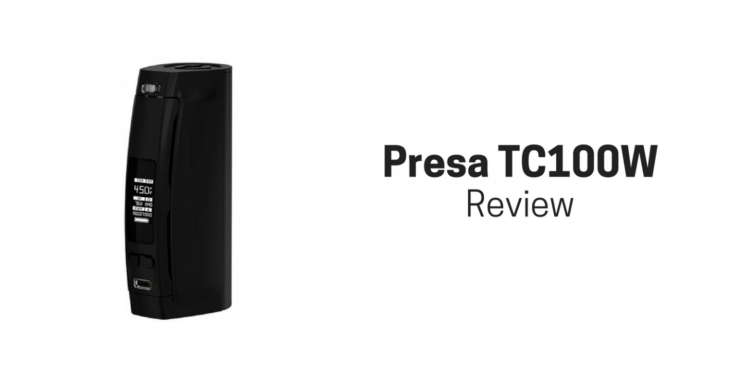 Presa TC100W Cover Image