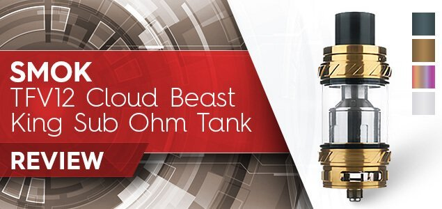 SMOK TFV12 Cloud Beast King Sub-Ohm Tank Review