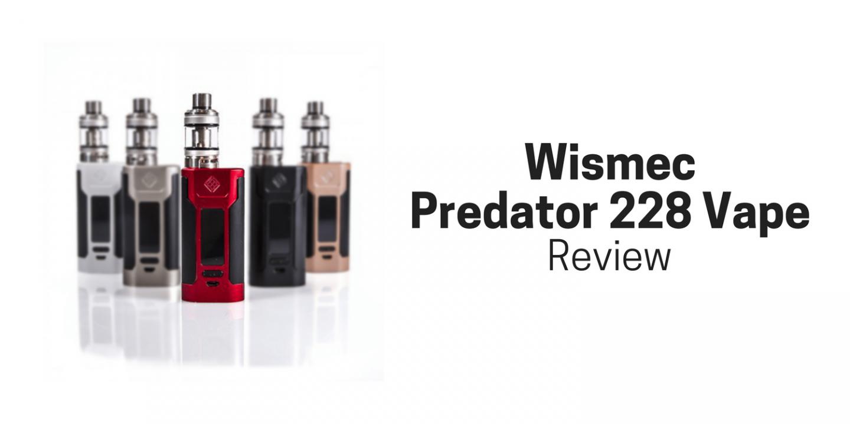 Wismec Predator 228 Vape Cover Image