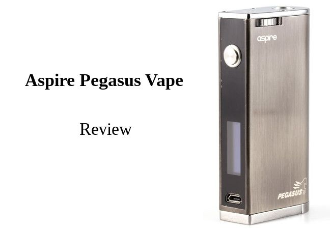 Aspire Pegasus Vape Review