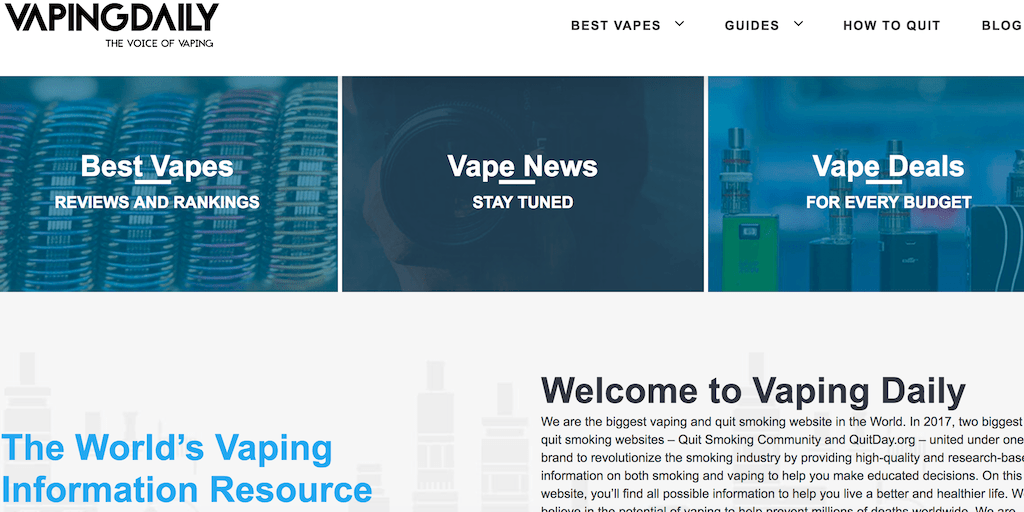 Vaping Daily — The Voice of Vaping — #1 Vaping Community