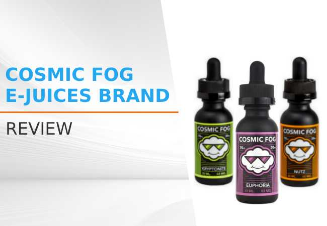 Cosmic Fog E-juices Brand Review