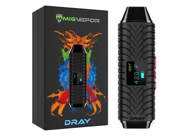 MigVapor DRAY Dry Herb Vaporizer image