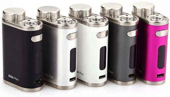 Design of pico box mod 75w colors image