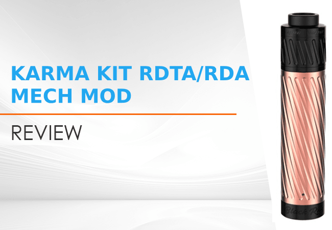 Karma Kit RDTA/RDA Mech Mod Review