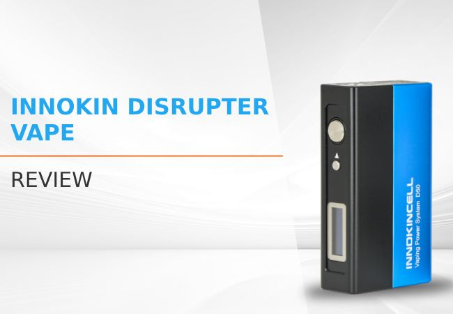 Innokin Disrupter Vape Review: A Two-Part Vapor Machine