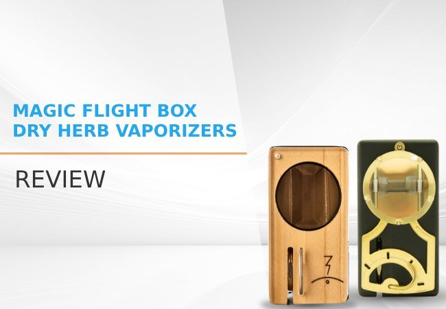 Magic Flight Box Dry Herb Vaporizers review image