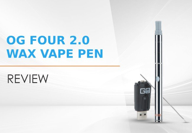 OG Four 2.0 Portable Wax Vape Pen Review image