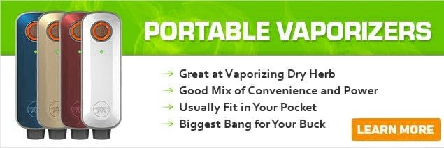 Portable dry herb Vaporizers image