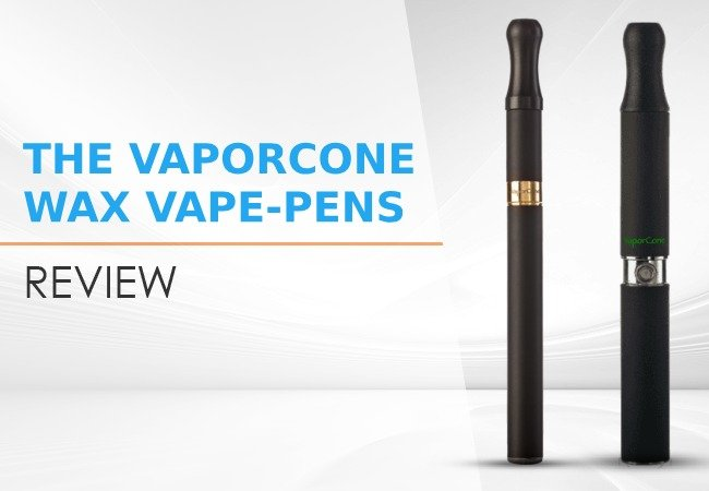 The VaporCone WAX Vape-pens review image