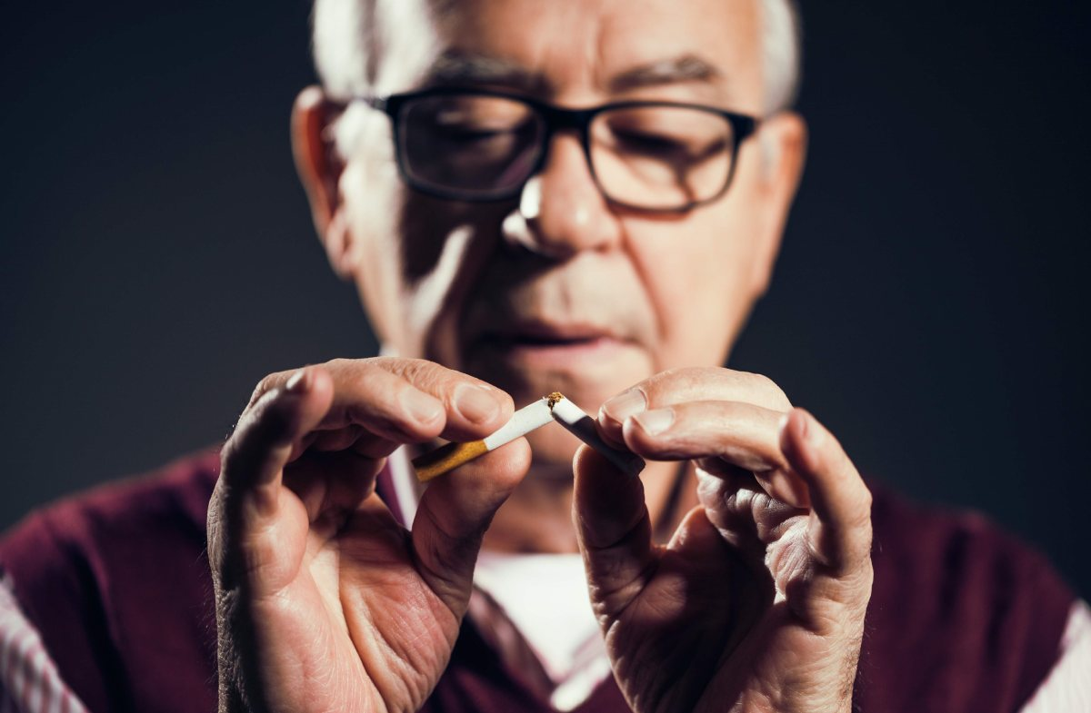 The Challenges of Seniors who Smoke
