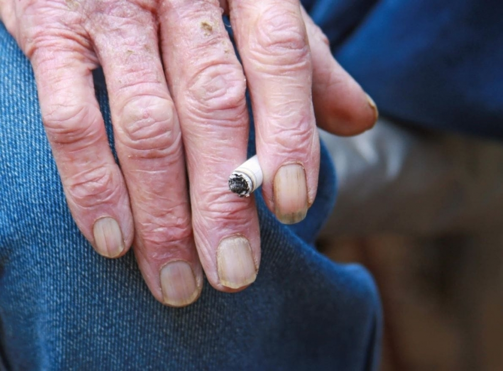 Cover of Article about harm from smoking for Seniors image