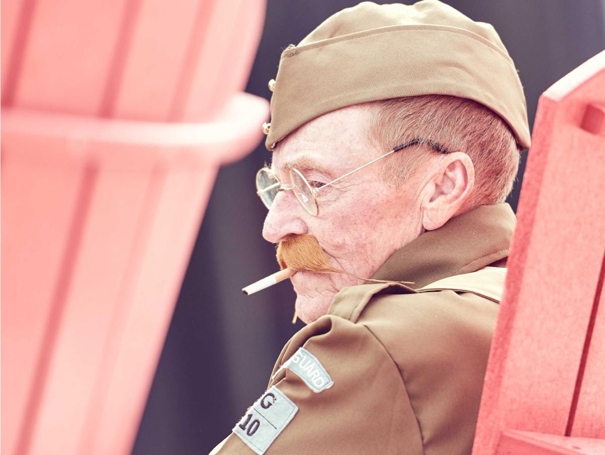 The Last and Only Solace: Veterans and Smoking