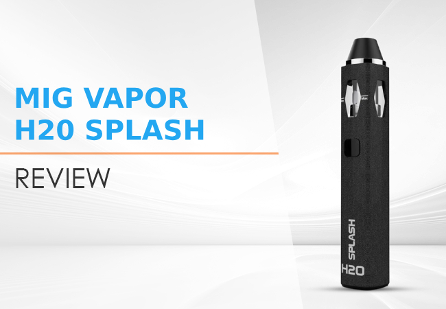 Mig Vapor H20 Splash Review image