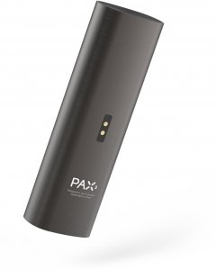 Pax 2 Portable Vaporizer Charcoal Back-side image