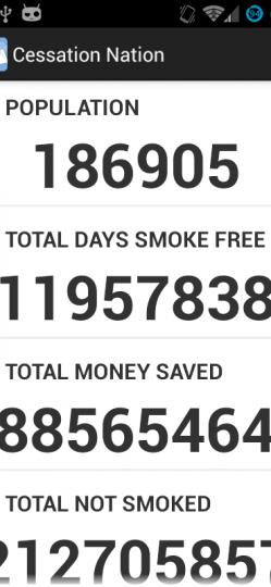 QUIT SMOKING – CESSATION NATION App ScreenShot2