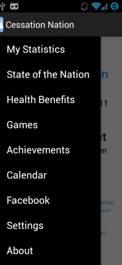 QUIT SMOKING – CESSATION NATION App ScreenShot3